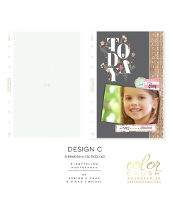 A5 Photo Sleeves Design C 8-pk