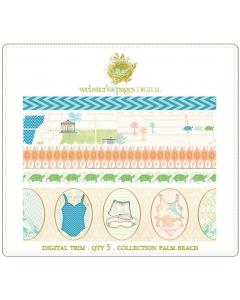 Palm Beach Digi Fabric Trim