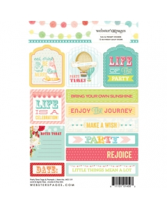 Party Time Tag & Prompt Sticker
