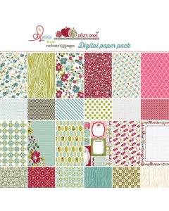 Plum Seed Paper Collection
