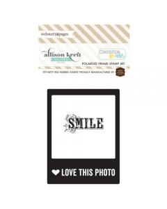 Polaroid Frame Stamp Set