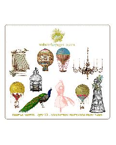 Postcard from Paris Digi Motifs