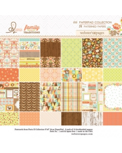 Family Traditions 6x6 pad
