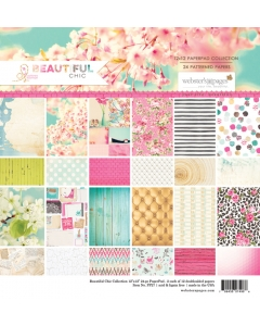 Beautiful Chic 12x12 Paper Pad