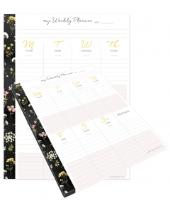 TGL Weekly Planner Tear-Away Pad