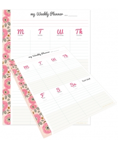 MHP Weekly Planner Tear-Away Pad