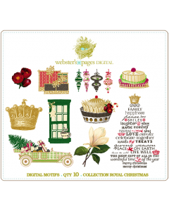 Royal Christmas Designs Digi Motifs