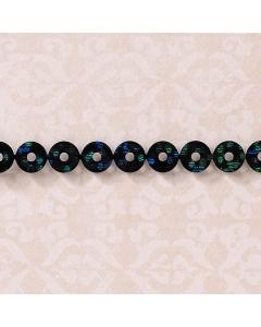 Sequin Black & Blue