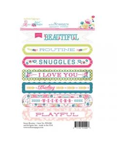 Sweet Routine Sentiment Sticker
