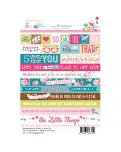 Sweet Routine Word Sticker