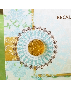 the HARVEST Accents } Sparklers Gold