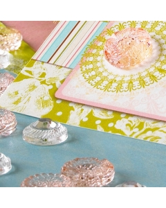 the SWEET SUNSHINE Accents } Sparklers Pink