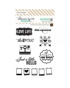 This & That Stamp Set