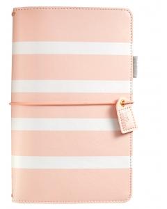 Travelers Journal- Blush Stripe