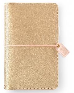 Gold Glitter Traveler