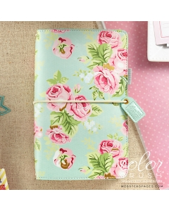 Travelers Journal- Mint Floral