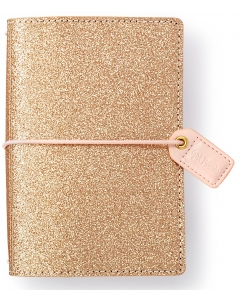 Gold Glitter Pocket Traveler