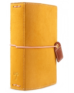 Mustard Suede Pocket Traveler