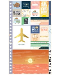 Sticker & Journaling Kit - Vacation