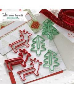 Tree & Reindeer Paperclips