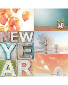 New Years Vellum
