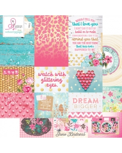 Beautiful Chic Storyteller Card Sheet I