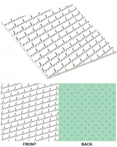 25-pc Sweet Love PaperStack