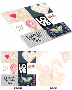 25-pc Love is in the Air PaperStack