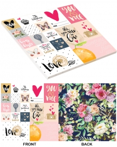 25-pc You & Me PaperStack