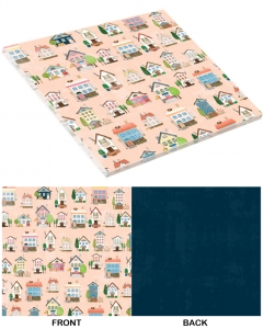 25-pc Home Sweet Home PaperStack