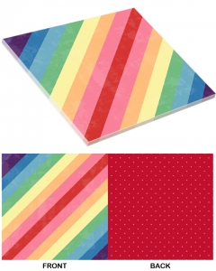 25-pc Stripes PaperStack