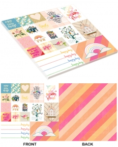 25-pc Happy Day PaperStack