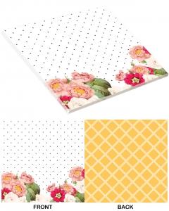 25-pc Caroline's Flowers PaperStack