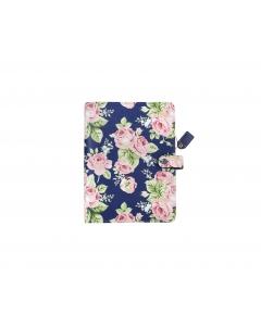 Navy Floral A5 Binder