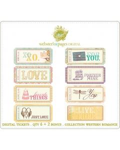 Western Romance Digi Tickets