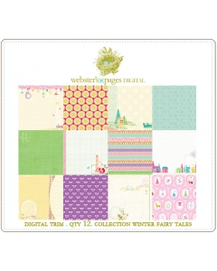 Winter Fairy Tales Papers Digi