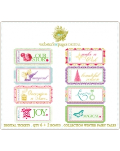 Winter Fairy Tales Digi Tickets