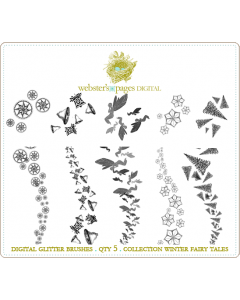 Winter Fairy Tales Digi Glitter Brushes