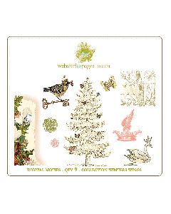 Winter's Wings Digi Motifs