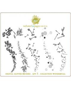 WonderFALL Digi Glitter Brushes