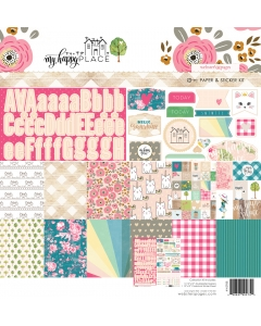 My Happy Place Paper & Sticker Collection Kit
