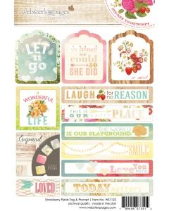 Strawberry Fields Tag & Prompt Sticker