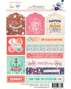 Ocean Melody Tag & Prompt Sticker
