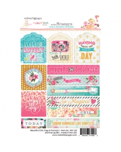 Beautiful Chic Tag & Prompt Sticker