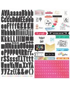 12x12 Sticker Collection Sheet