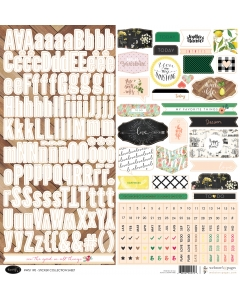 Good Life 12x12 Sticker Sheet