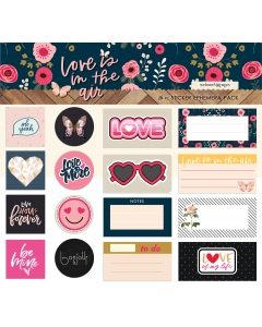 Sticker Ephemera Pack (Love)