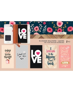 TN Sticker Wallpaper - Quotes (Love)