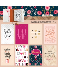 Pocket TN Sticker Wallpaper - Quotes (Love)