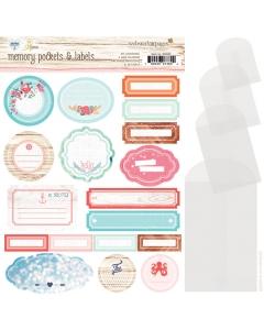 Ocean Melody Memory Pockets & Labels